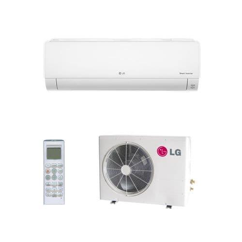 Lg Air Conditioning Deluxe DC09RQ.NSJ Wall Mounted Heat Pump Inverter 2.5Kw/9000Btu A++ R32 240V~50Hz