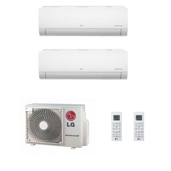 Lg Air Conditioning MU2M15-UL4 Multi Inverter Heat Pump Wall Mounted 2 x 2.5Kw Standard Plus A++ 240V~50Hz