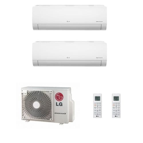 Lg Air Conditioning MU2M17-UL4 Multi Inverter Heat Pump Wall Mounted 2 x 3.5Kw Standard Plus A++ 240V~50Hz