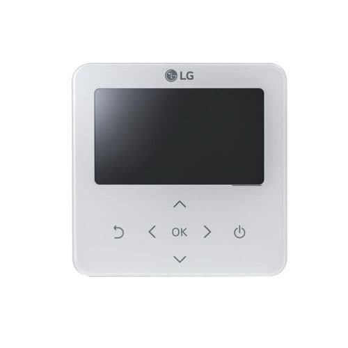 LG Air Conditioning PREMTB100 Standard III Hard Wired Remote Controller In White