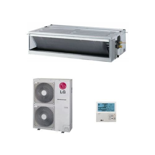 LG Air Conditioning UM48N34 Concealed Ducted Heat Pump 14Kw/48000Btu Standard Inverter 240V/415V~50Hz
