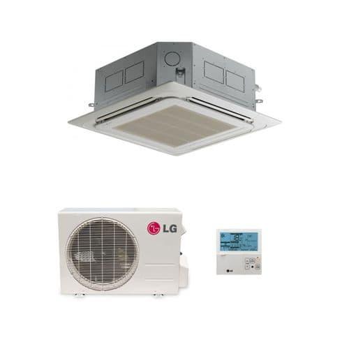 LG Air Conditioning UT12H-NP1 Cassette Heat Pump (3.5 Kw / 12000 Btu) Hyper Inverter 240V~50Hz