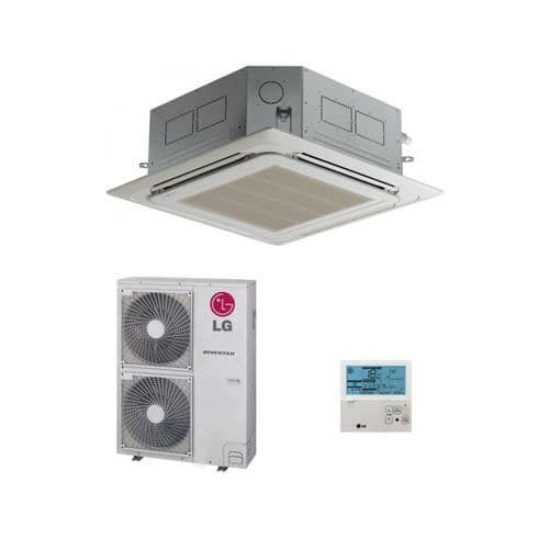 LG Air Conditioning UT42-NM2 Cassette Heat Pump Inverter 12.5Kw/42000Btu 240V/415V~50Hz