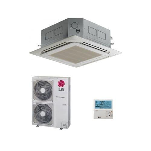 LG Air Conditioning UT48H-NM1 Cassette Heat Pump (14 Kw / 48000 Btu) Hyper Inverter 240V~50Hz