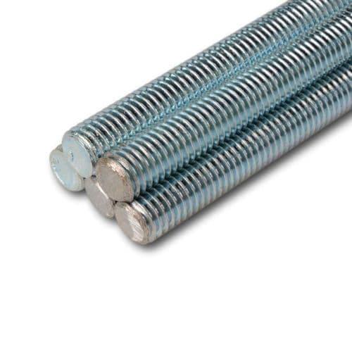 M10 x 3 Meters BZP Studding Threaded Rod 1 Piece