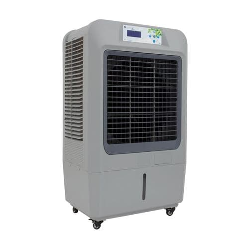Masterkool IKOOL100 Remote Control Evaporative Air Cooler, Tough Casters And 93 Liter Tank 240V~50Hz