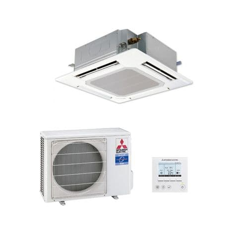 Mitsubishi Electric Air Conditioning Cassette PLA-ZM50EA Power Inverter Heat Pump 5Kw/18000Btu R32 A++ 240V~50Hz