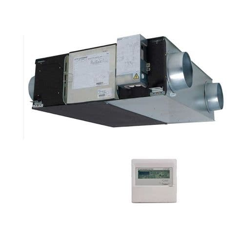 Mitsubishi Electric Air Conditioning LGH-35RX5-E Lossnay Ducted Heat Exchange 350M3/hr 240V~50Hz