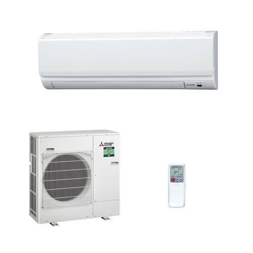 Mitsubishi Electric Air Conditioning Mr Slim Heat Pump PKA-M100HA 10Kw/36000Btu Install Pack