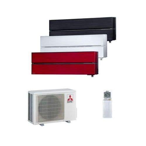 Mitsubishi Electric Air Conditioning MSZ-LN25VG2 2.5Kw/9000Btu R32 Heat Pump Wall Install Pack