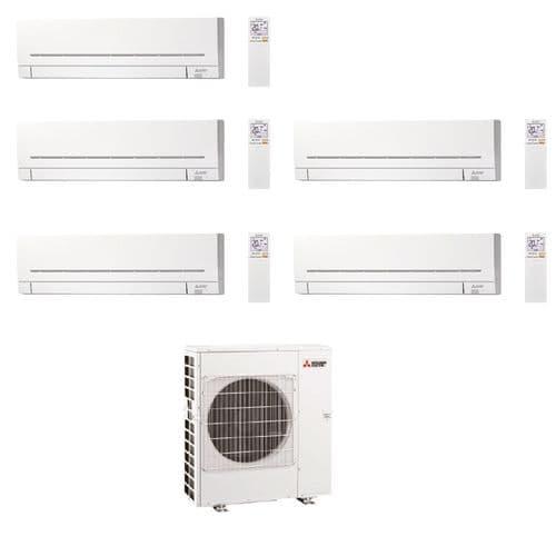 Mitsubishi Electric Air Conditioning MXZ-5F102VF Multi 5 x MSZ-AP25VGK 2.5kW Wall A++ 240V~50Hz