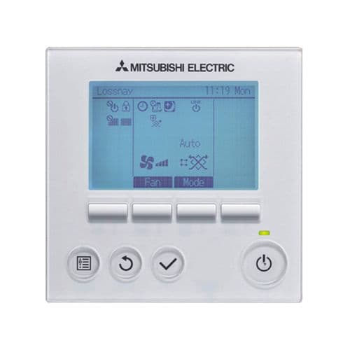 Mitsubishi Electric Air Conditioning PZ-61DR-E Lossnay Wired Remote Controller