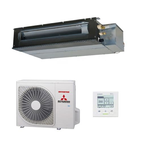 Mitsubishi Heavy Industries Air Conditioning Compact Ducted SRR25ZS-W2.5Kw/9000Btu A++ R32