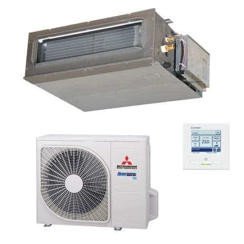 Mitsubishi Heavy Industries Air Conditioning FDUM50VH Ducted Ceiling Concealed 5Kw/18000Btu R32 A+