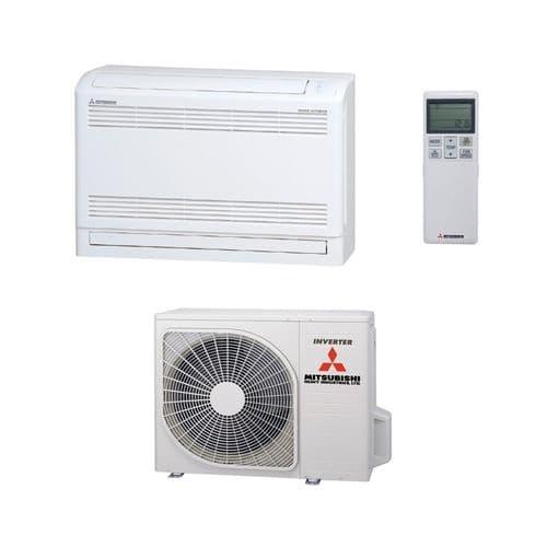 Mitsubishi Heavy Industries Air Conditioning SRC35ZS-W2 SRF35ZS-W Floor Heat Pump 3.5kW/12000Btu R32