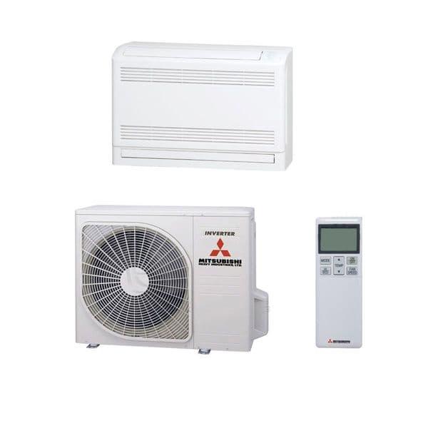 Mitsubishi Heavy Industries Air Conditioning SRF25ZMX-S HYPER Inverter Floor Heat Pump 2.5kW/9000Btu
