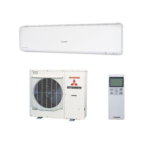 Mitsubishi Heavy Industries Air Conditioning SRK100ZR Wall Heat Pump 10kW/33000Btu R32 240V~50Hz