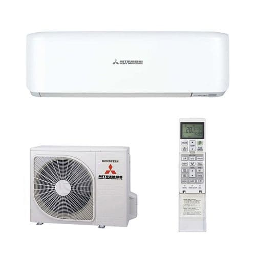 Mitsubishi Heavy Industries Air Conditioning SRK35ZS Wall 3.5Kw/12000Btu A++ R32 Install Pack