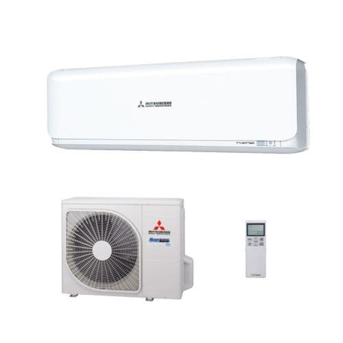 Mitsubishi Heavy Industries Air Conditioning SRK35ZSX-R32 Wall Heat Pump Install Pack