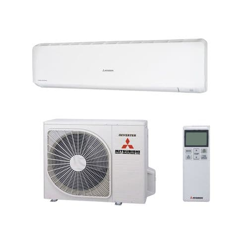 Mitsubishi Heavy Industries Air Conditioning SRK63ZR Wall 6.3Kw/21000Btu R32 A++ Install Pack