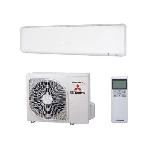 Mitsubishi Heavy Industries Air Conditioning SRK71ZR Wall 7Kw/2400Btu R32 A+ Heat Pump 240V~50Hz