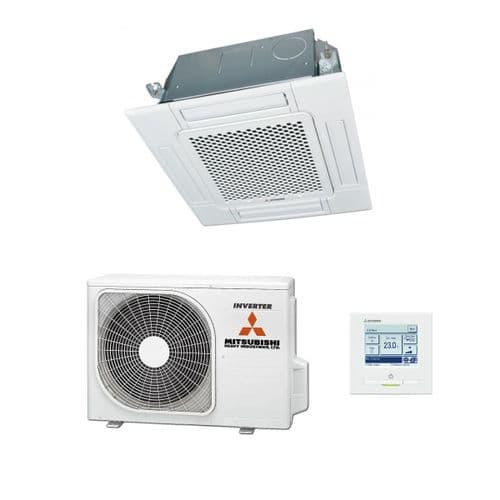Mitsubishi Heavy Industries FDT Cassette Air Conditioning Inverter Heat Pump A+