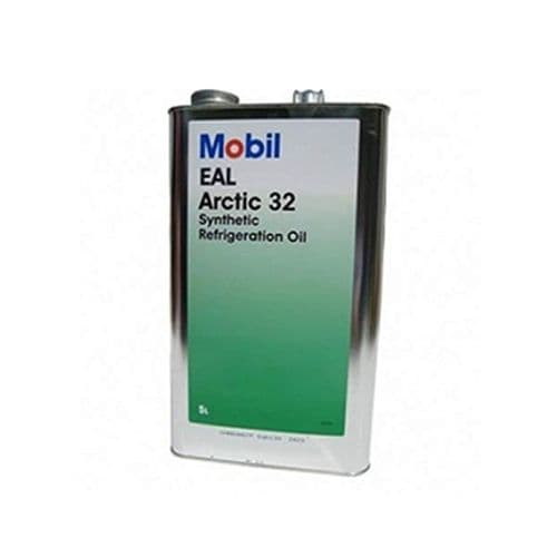 Mobil Arctic 32 EAL 32 Refrigeration Oil Lubricant 20 Litre 4 x 5 Litre Cans