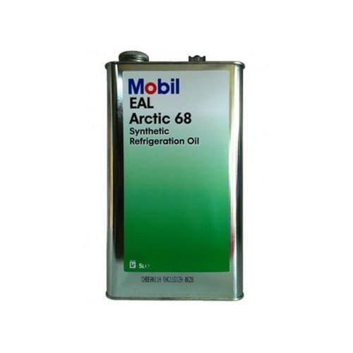 Mobil Arctic 68 EAL 68 Refrigeration Oil Lubricant 20 Litre 4 x 5 Litre Cans