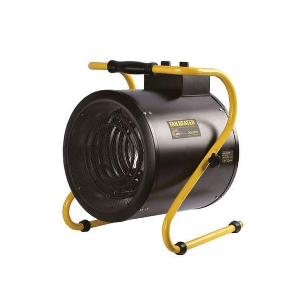 Olympus JetHeat OLY-J9/3 Industrial Electric Fan Heater With Thermostat 9Kw/30000Btu 415V~50Hz