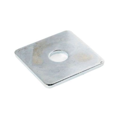 Pack of 100 Square Plate Washer M10