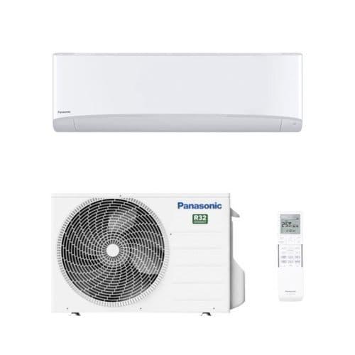 Panasonic Air Con Etherea CS-Z25XKEW White Wall Mount Heat Pump R32 A+++ 2.5Kw/9000Btu Install Kit