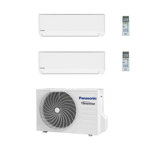 Panasonic Air Conditioning 2 x CS-TZ25TKEW Wall Multi CU-2Z41TBE 4.1Kw/14000Btu A++ 240V~50Hz