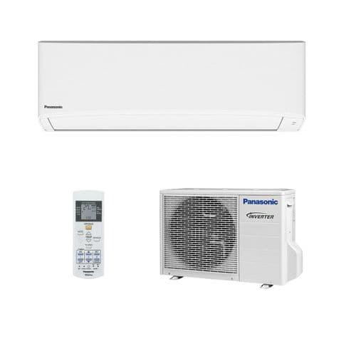 Panasonic Air Conditioning CS-TZ25TKE Compact Wall Mounted Heat Pump 2.5Kw/9000Btu R32 A++ 240V~50Hz