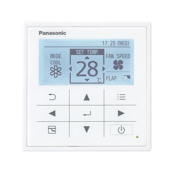 Panasonic Air Conditioning CZ-RTC5A CZRTC5A4 Advanced Hard Wired Remote Control