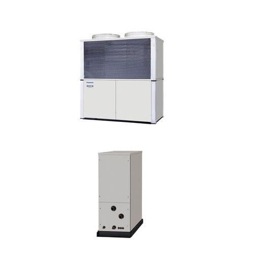 Panasonic Air Conditioning ECOiWater ChillerHeat Exchanger Heatpump 75Kw/250000Btu 415V~50Hz