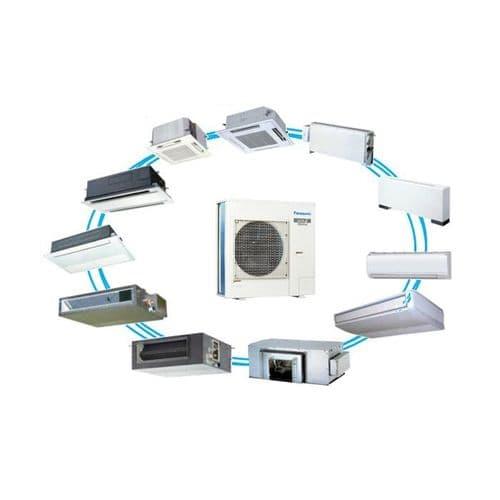 Panasonic Air Conditioning Mini ECOi VRF Heat Pump Inverter Condensing Unit U-LE2E5 240V~50Hz
