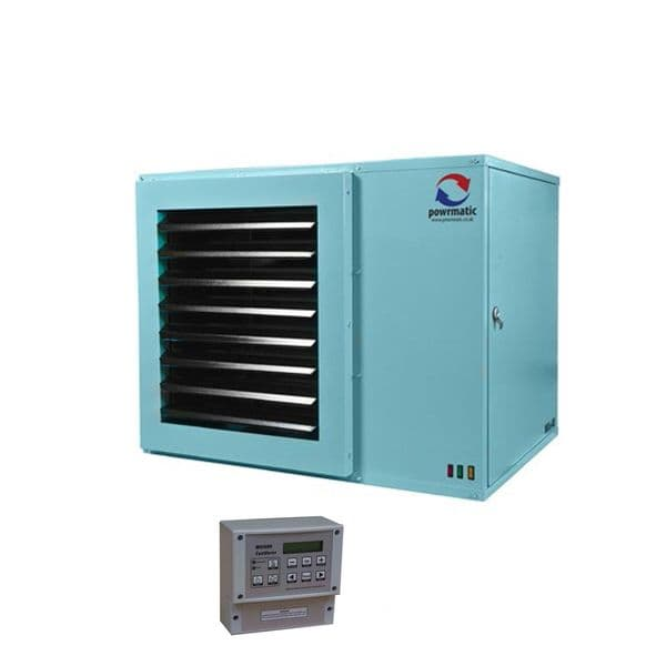 Powrmatic NVx50 Suspended Gas Unit Heater 50Kw/170000Btu 240V~50Hz