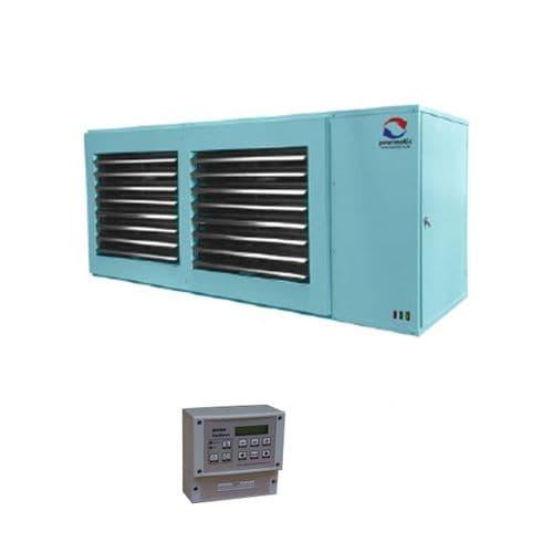 Powrmatic NVX90SF/F Suspended Gas Unit Heater 90Kw/306000Btu 240V~50Hz