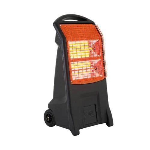 Rhino H029400 TQ3 Portable Wheels Quartz Electric Heater 2.8kW 220V~50Hz
