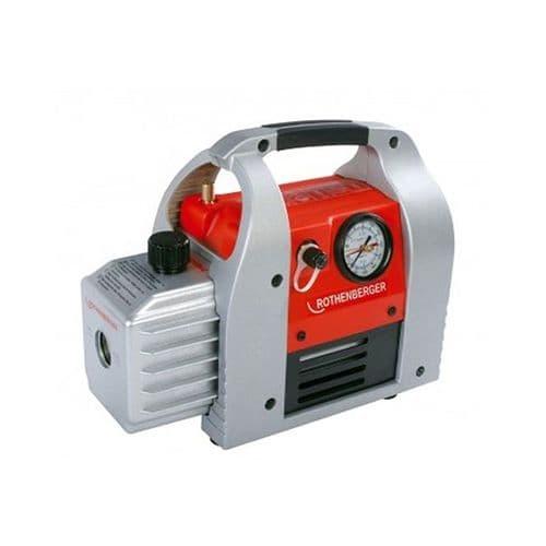 Rothenberger Roairvac 9 CFM 184202 Refrigerant Vacuum Pump Two-stage Dual Voltage 110/240V~50/60HZ