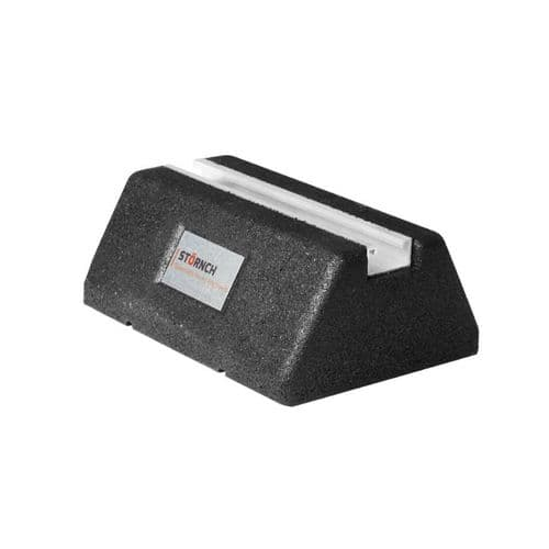 Rubber Foot Air Conditioning Floor Bracket 250mm + 40mm x 20mm Aluminium Channel  Recess GMCG200