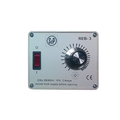 S&P Electronic Speed Controller For Centrifugal Fan 3 Amp 240V~50Hz