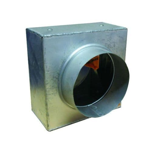 S&P Spigotted  Metal Duct Fire Damper 150mm