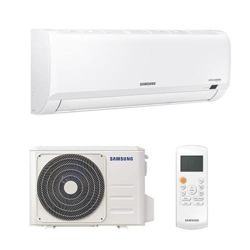 Samsung Air Conditioning AR09TXHQBWKXEU Wall Inverter Heat Pump 2.5Kw/9000Btu R32 A++ 240V~50Hz
