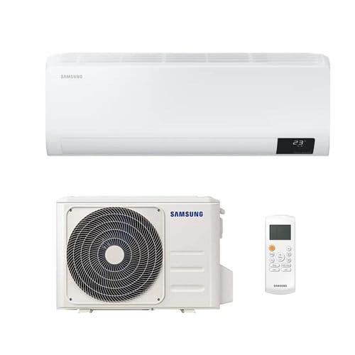 Samsung Air Conditioning AR12TXFYAWKNEU Cebu Wall Heat Pump 3.5Kw/12000Btu R32 A++ Wi-Fi Install Kit