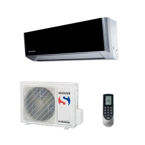 Sinclair Air Conditioning ASH-09BIS Spectrum Black Wall Mount 2.6Kw/9000Btu  A+++ R32​ 240V~50Hz