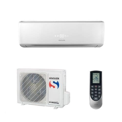 Sinclair Air Conditioning ASH-09BIV Vision Wall Mounted Heat Pump 2.6Kw/9000Btu  A+++ R32 240V~50Hz