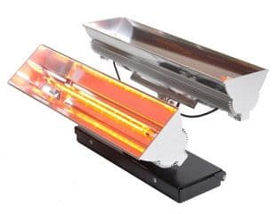 Solaire Axis Double Wall Mountable Multi Directional Infrared Heater 4Kw/14000Btu 240V~50Hz