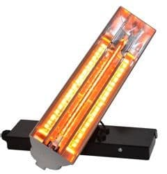 Solaire Axis Single Wall Mountable Multi Directional Infrared Heater 1.5Kw / 8000Btu 240V~50Hz