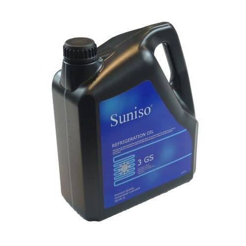 SUNISO 3GS Refrigeration Mineral Oil Lubricant HCFC and CFC Systems 24 Litres 5 Cans x 4 Litres